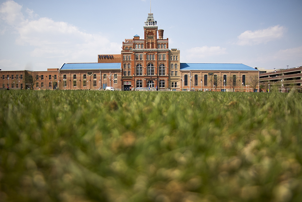 Tivoli Student Union on Denver's Auraria Campus, April 30, 2018. (Kevin J. Beaty/Denverite)