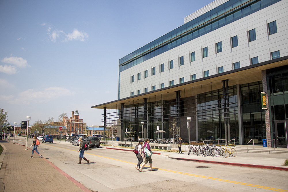 Denver's Auraria Campus, April 30, 2018. (Kevin J. Beaty/Denverite)