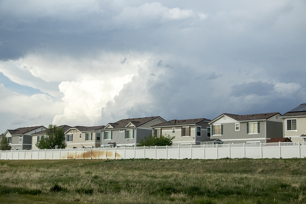 Homes in Green Valley Ranch, April 30, 2018. (Kevin J. Beaty/Denverite)  denver; denverite; colorado; green valley ranch; residential real estate; kevinjbeaty;