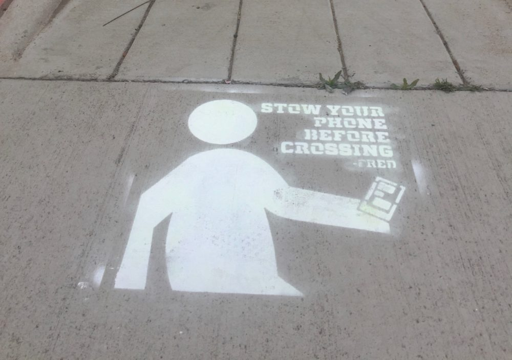 A Colorado Department of Transportation street-art campaign. (CDOT)