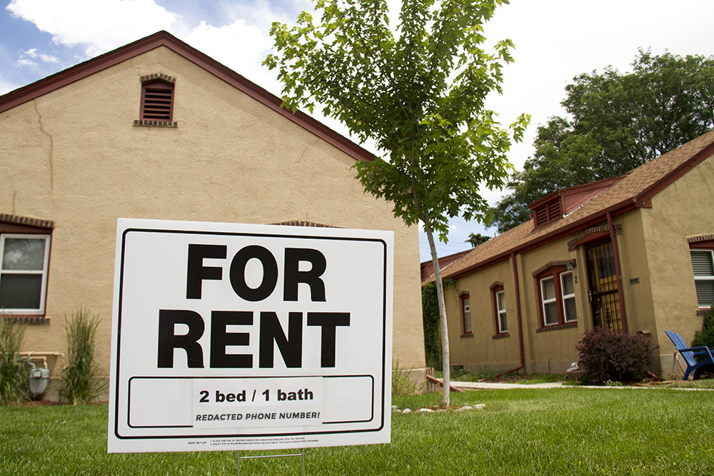 Apartments for rent in Washington Park West. (Kevin J. Beaty/Denverite)