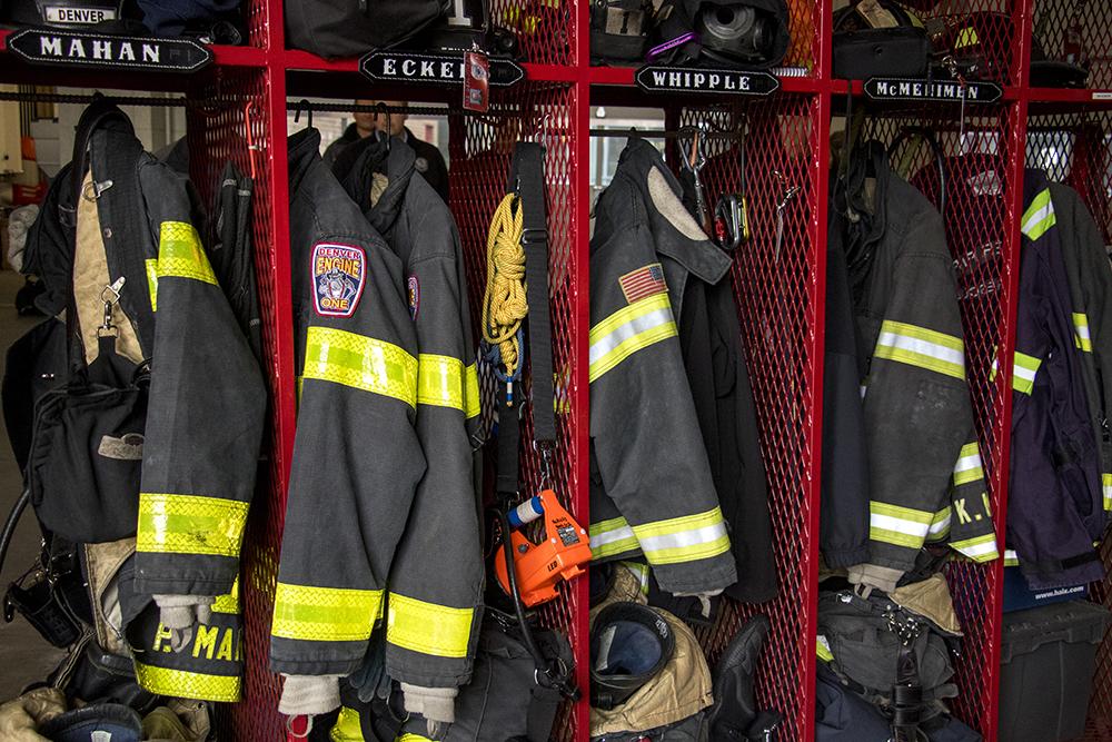 Inside the Denver Fire Department's station number 1 on West Colfax Avenue, May 3, 2018. (Kevin J. Beaty/Denverite)