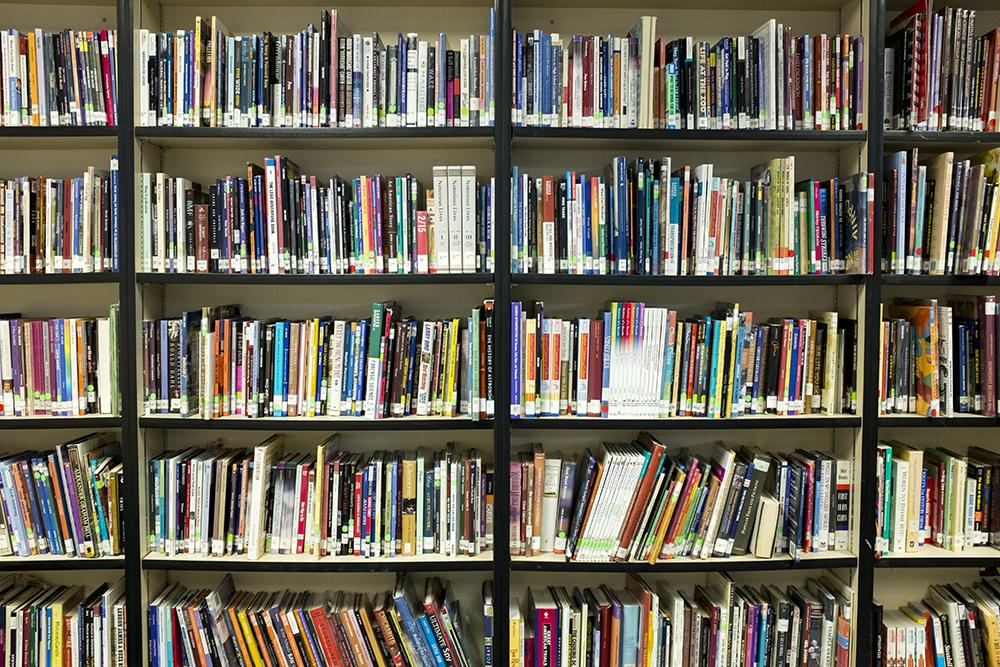 Books. (Kevin J. Beaty/Denverite)