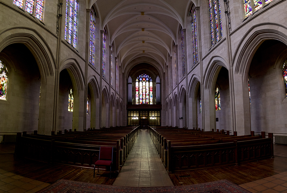 Cathedral of St. John in the Wilderness, Capitol Hill, May 9, 2018. (Kevin J. Beaty/Denverite)  church; religion; capitol hill; denver; denverite; colorado; kevinjbeaty;