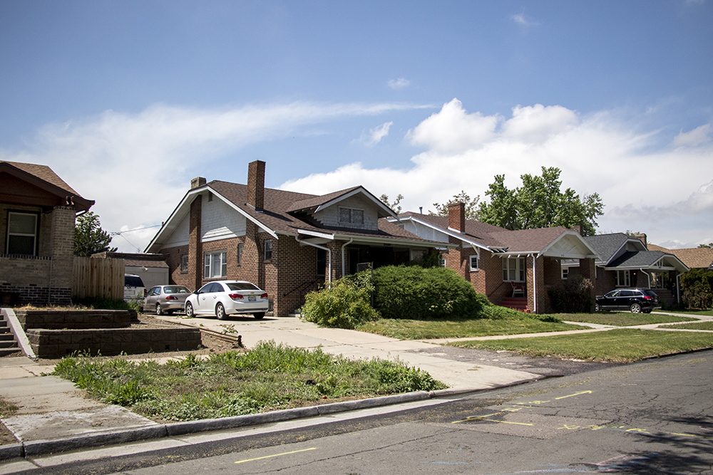 Lonnie Wright's home in Denver's Skyland neighborhood, May 14, 2018. (Kevin J. Beaty/Denverite)  denver; colorado; denverite; kevinjbeaty; residential real estate; skyland;