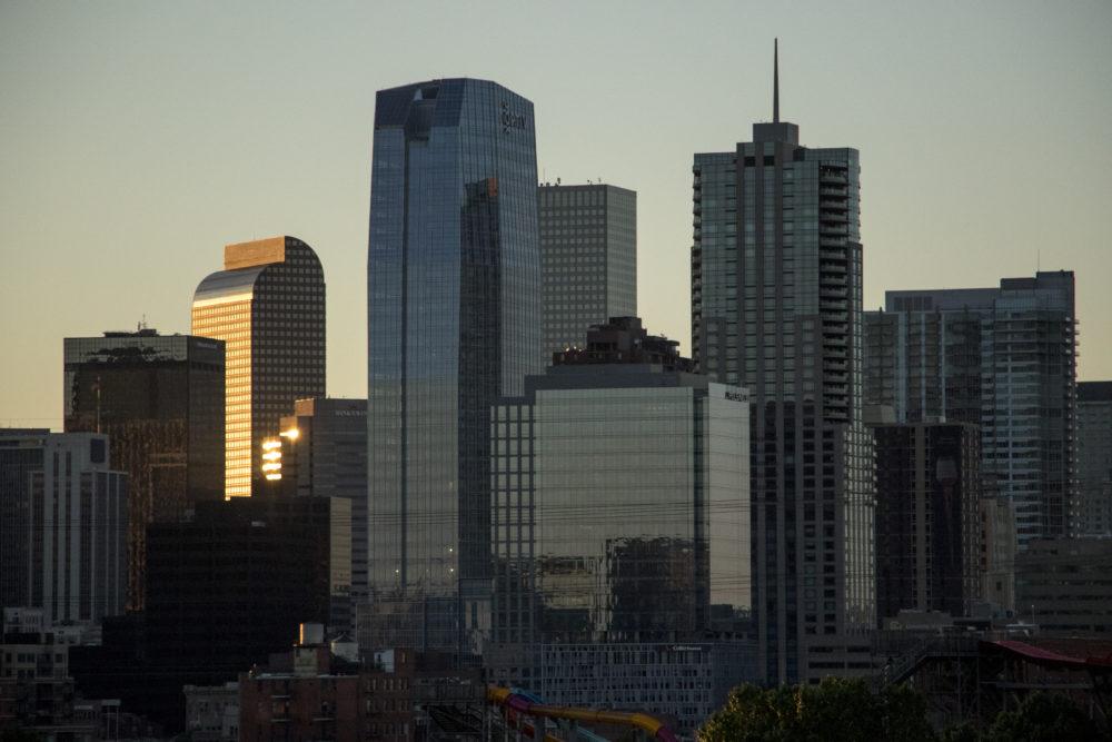 Day breaks over Denver, May 21, 2018. (Kevin J. Beaty/Denverite)