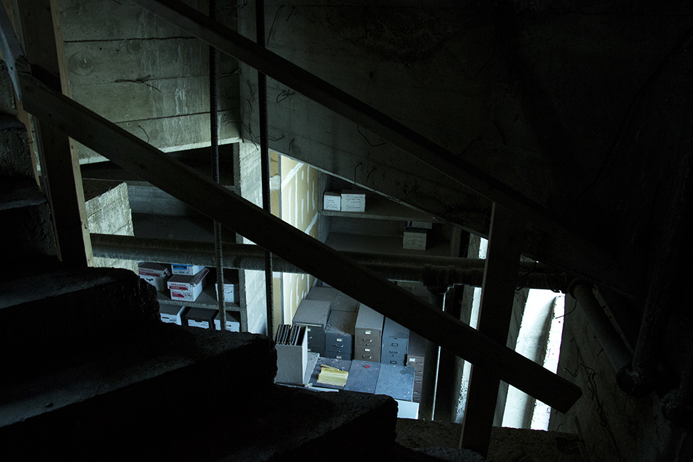Inside the Tower of Memories in Lakewood's Olinger Crown Hill Mortuary & Cemetery, May 23, 2018. (Andrew Kenney/Denverite)  denver; colorado; denverite; kevinjbeaty; lakewood; cemetery; mausoleum;