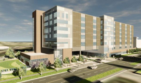 Denver Health Outpatient Facility rendering
