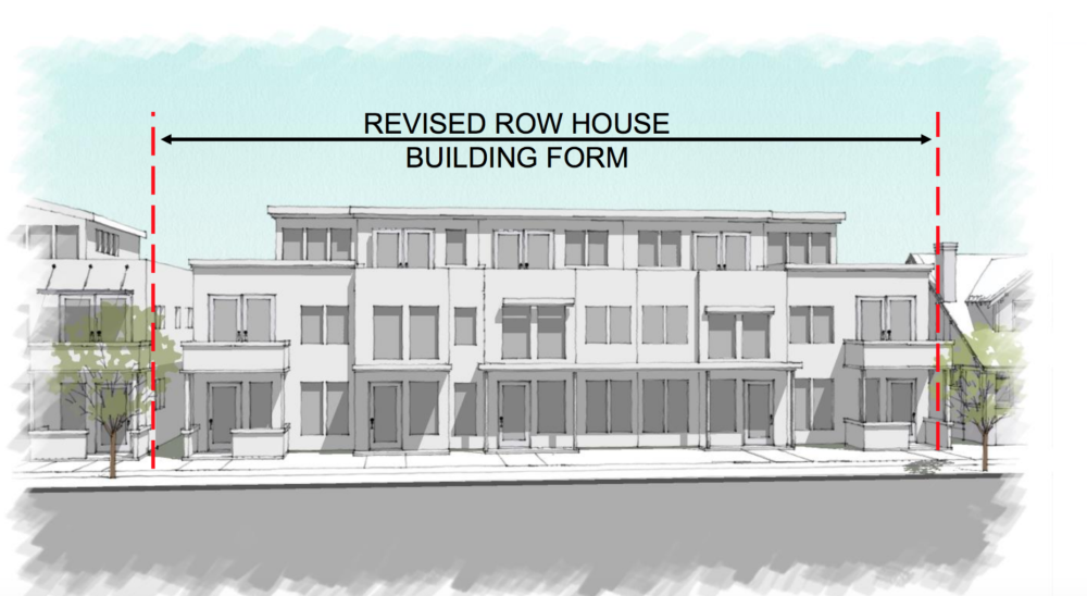 "An example of how new -row-house buildings could look in Denver's ""RH"" areas. (City and County of Denver)"