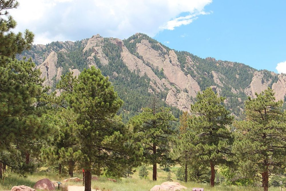 Green Mountain in Boulder. (Thomson200/Public domain/Wikimedia Commons)