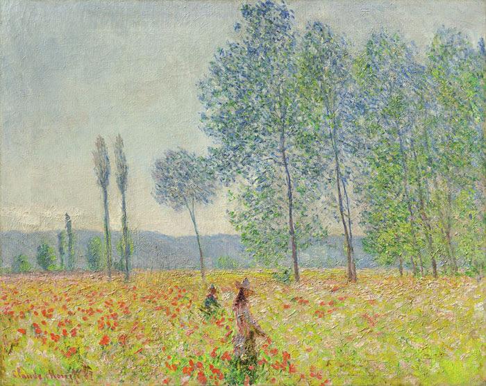"""Claude Monet's """"Sous les Peupliers."""" (Courtesy of Denver Art Museum)"""