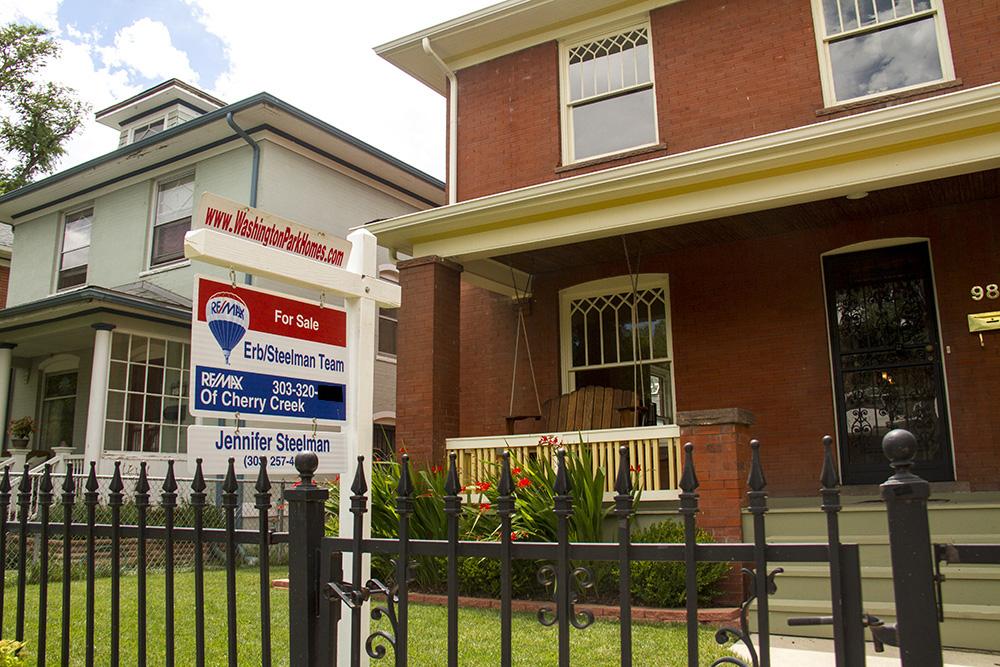 Homes for sale in Washington Park West. (Kevin J. Beaty/Denverite)