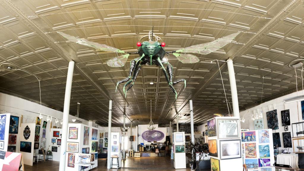The Denver Art Society on Santa Fe Drive, July 31, 2018. (Kevin J. Beaty/Denverite)