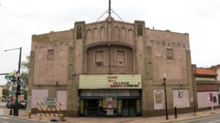 The Aztlan Theatre on Santa Fe Drive, Aug. 1, 2018. (Kevin J. Beaty/Denverite)