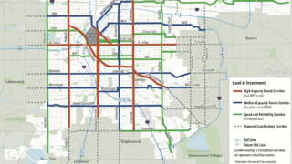 An ambitious long-term proposal for transit in Denver. (City and County of Denver)