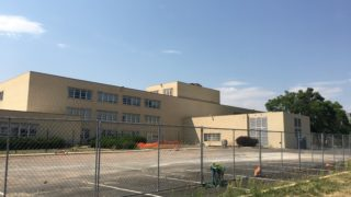 The closed CDOT headquarters near Arkansas and Colorado (Andrew Kenney/Denverite)