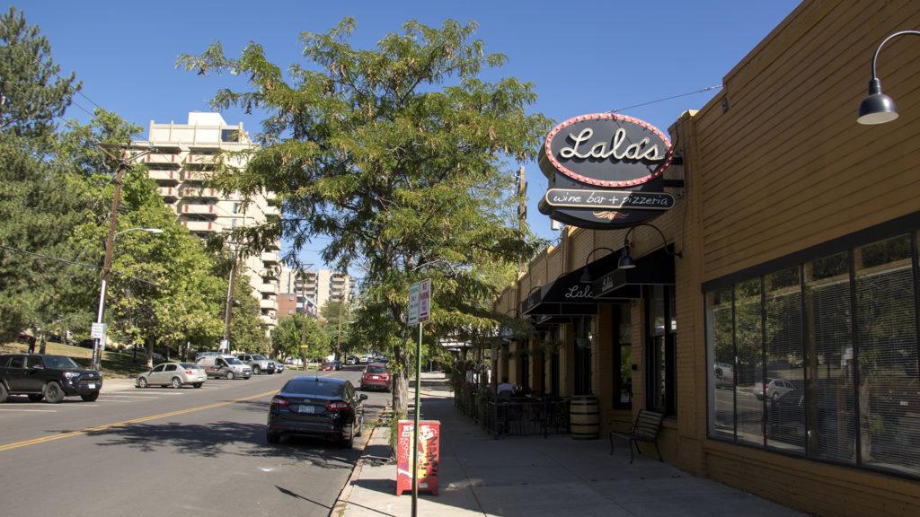Lala's Wine Bar and Pizzeria on 7th Avenue, Sept. 14, 2018. (Kevin J. Beaty/Denverite)
