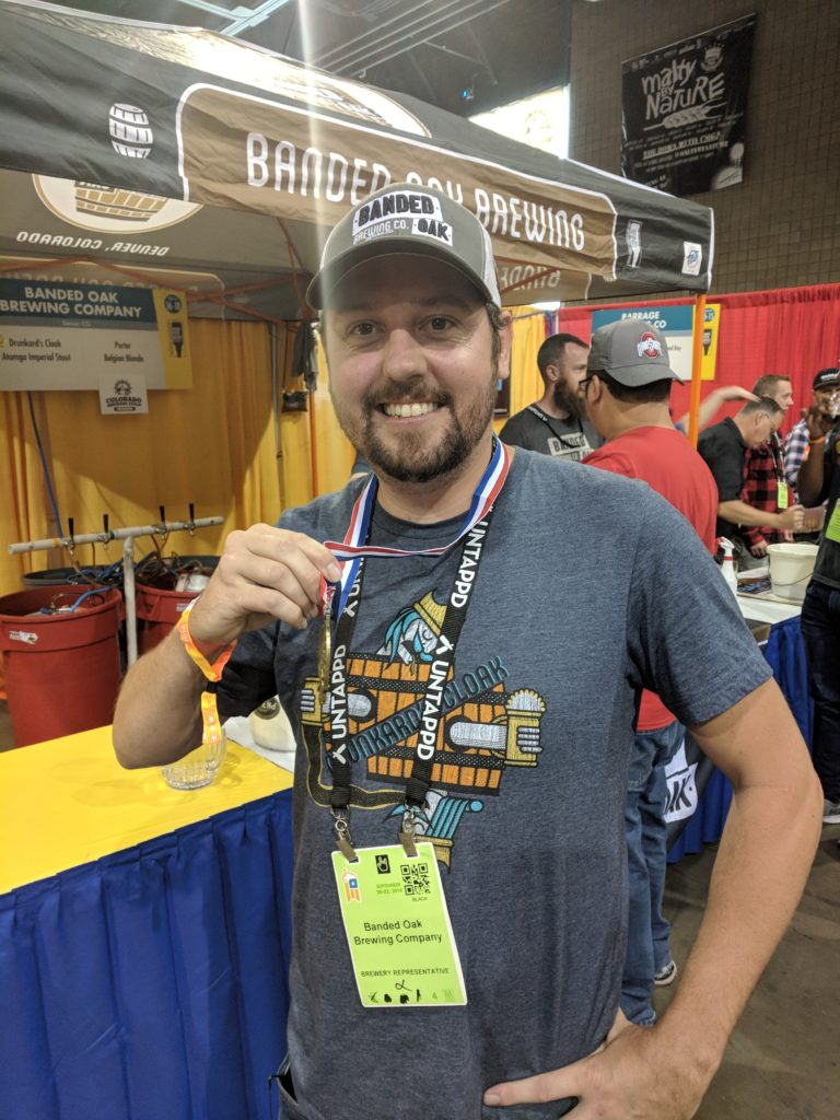 Chris Kirk of Banded Oak. (Eric Gorski/For Denverite)