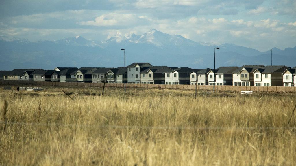 Homes in Green Valley Ranch, Oct. 18, 2018. (Kevin J. Beaty/Denverite)