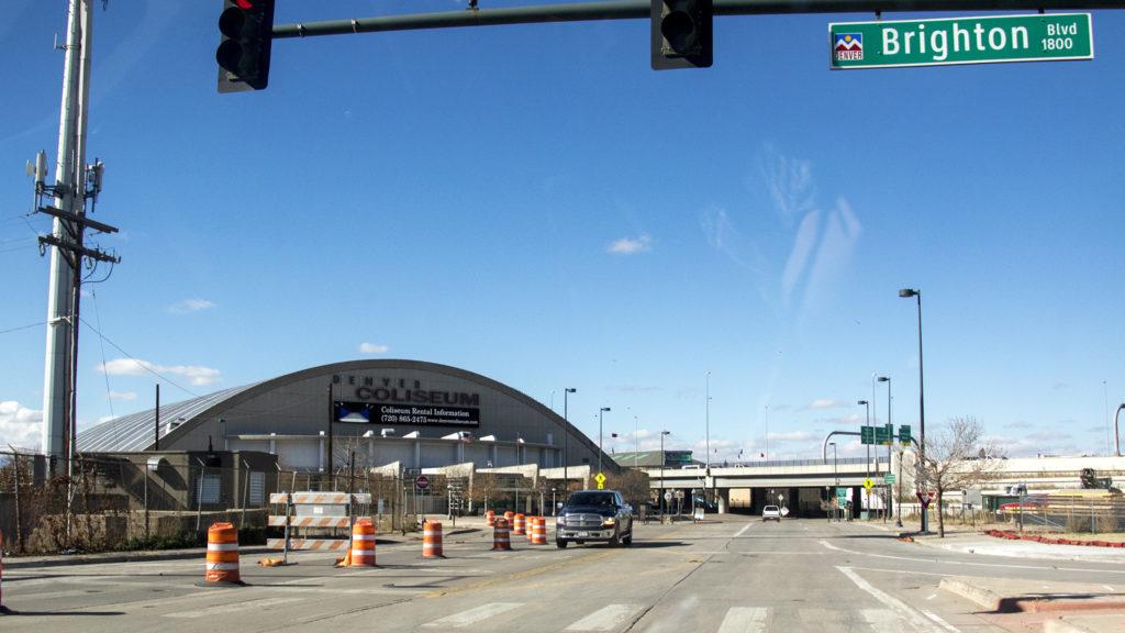 The Denver Coliseum, Oct. 31, 2018. (Kevin J. Beaty/Denverite)