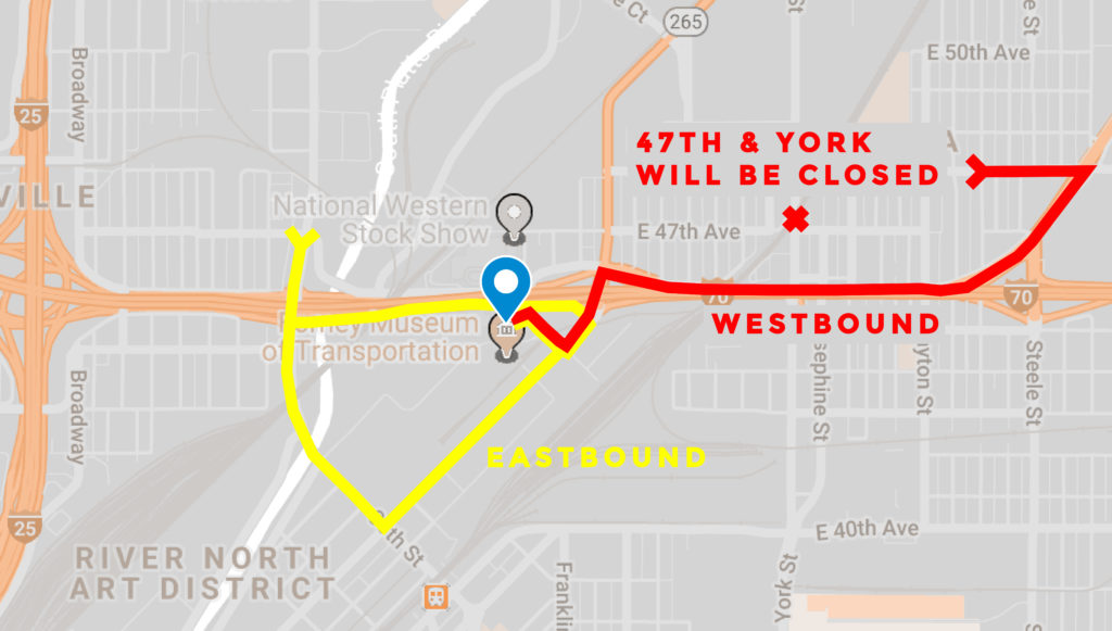 Here are the ways you can get to the Denver Coliseum from Globeville and Elyria-Swansea. (Kevin J. Beaty/Denverite)