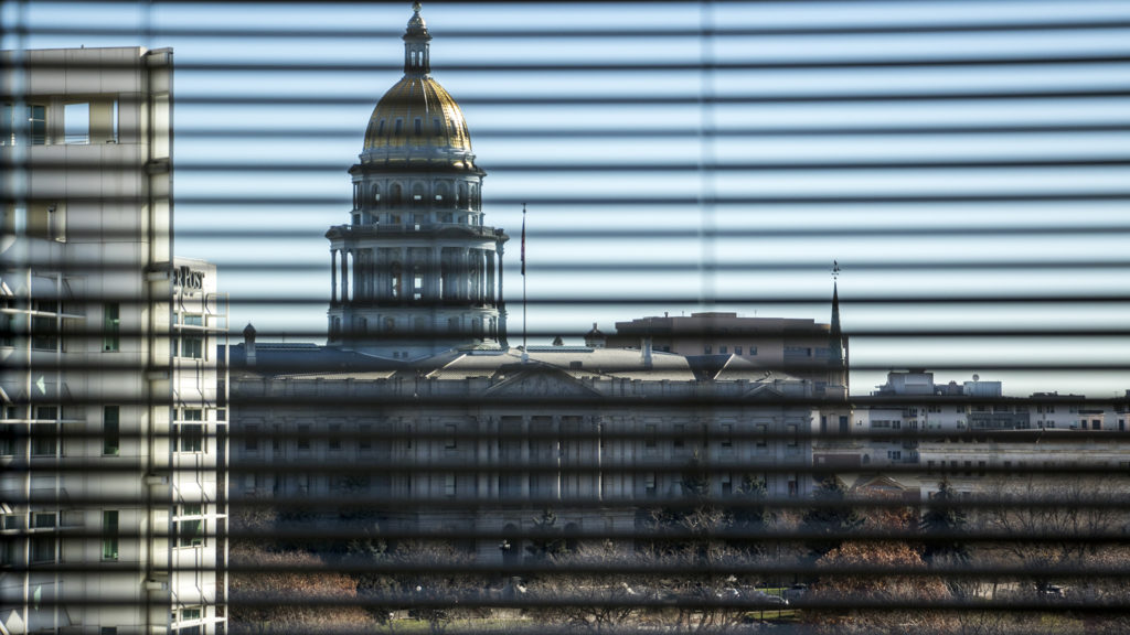 The Colorado State Capitol, Nov. 20. 2018. (Kevin J. Beaty/Denverite)