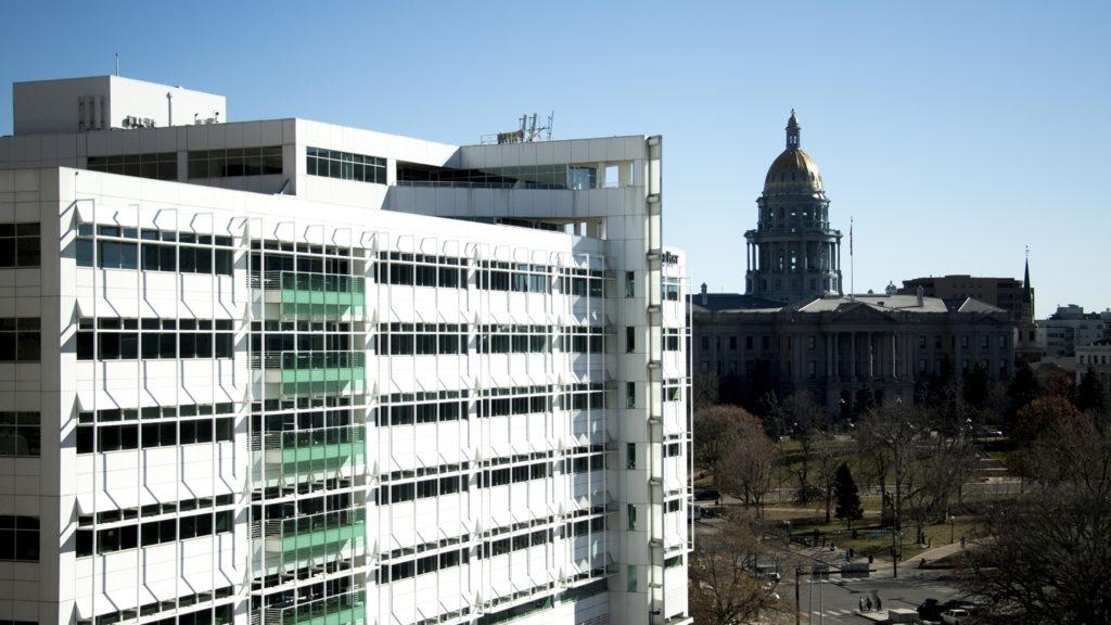 The Colorado State Capitol, Nov. 20. 2018. (Kevin J. Beaty/Denverite)