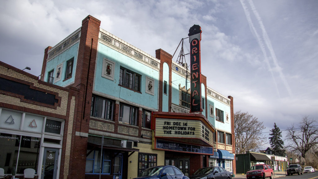 The Oriental Theater on 44th Avenue in Berkeley, Dec. 5, 2018. (Kevin J. Beaty/Denverite)