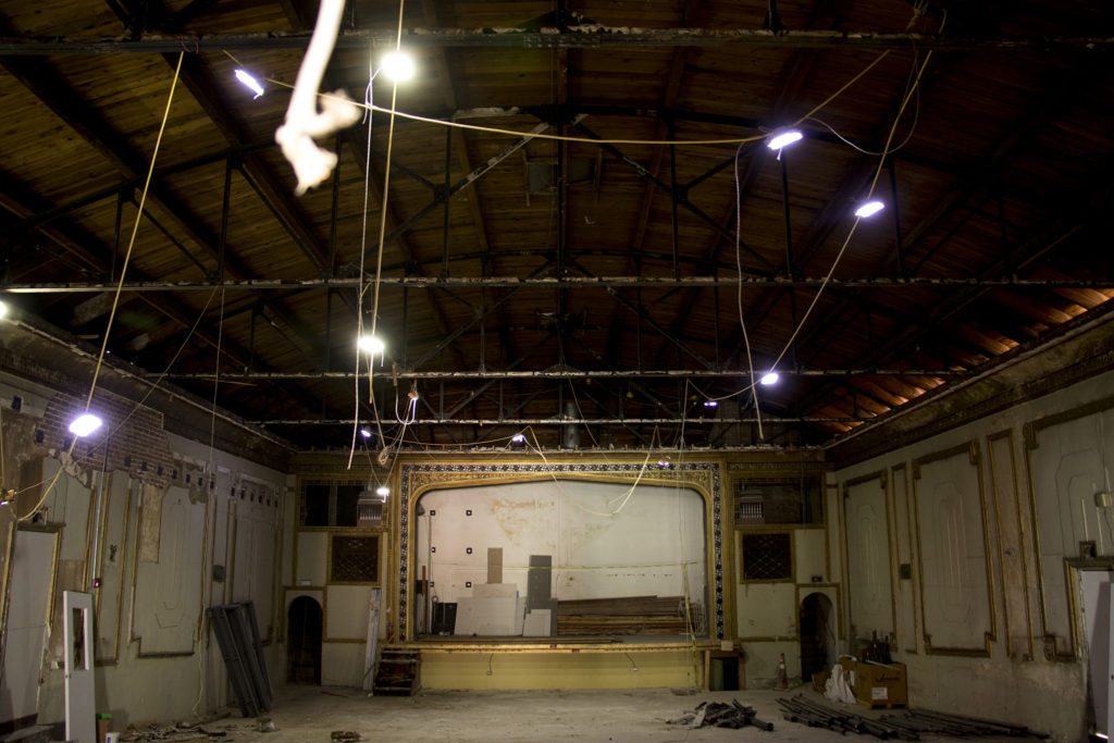 A historic theater on 44th Avenue in Berkeley that may be restored, Dec. 5, 2018. (Kevin J. Beaty/Denverite)