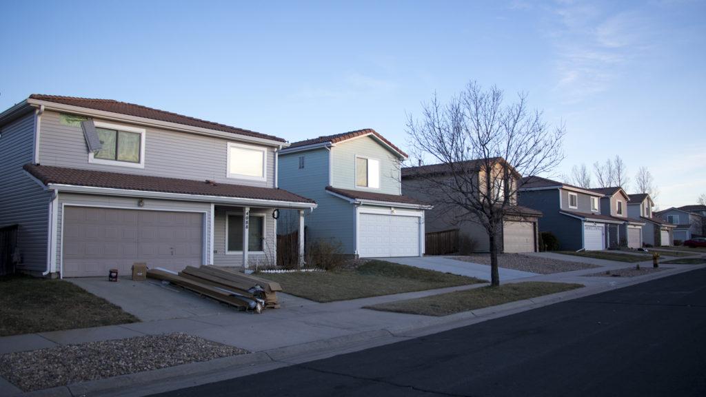 Homes in Green Valley Ranch. Dec. 14, 2018. (Kevin J. Beaty/Denverite)