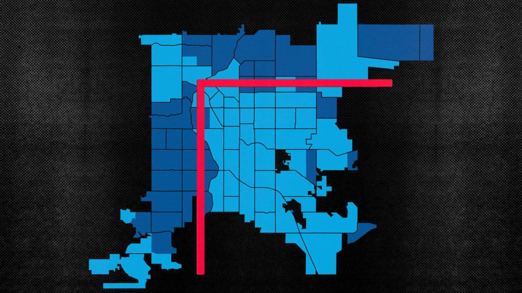 Denver is divided.