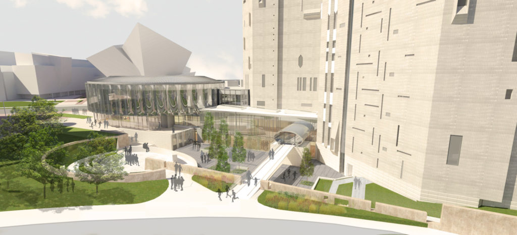 A rendering the changes coming to the Denver Art Museum. (Courtesy Denver Art Museum)