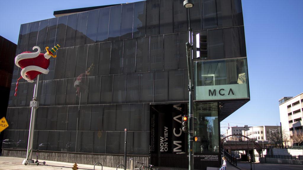 The Museum of Contemporary Art, Feb. 15, 2019. (Kevin J. Beaty/Denverite)