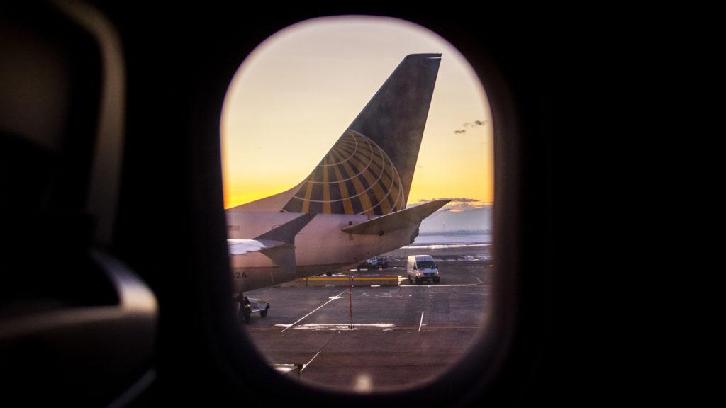Planes on the tarmac at Denver International Airport, Feb. 25, 2019. (Courtesy: Kevin J. Beaty)