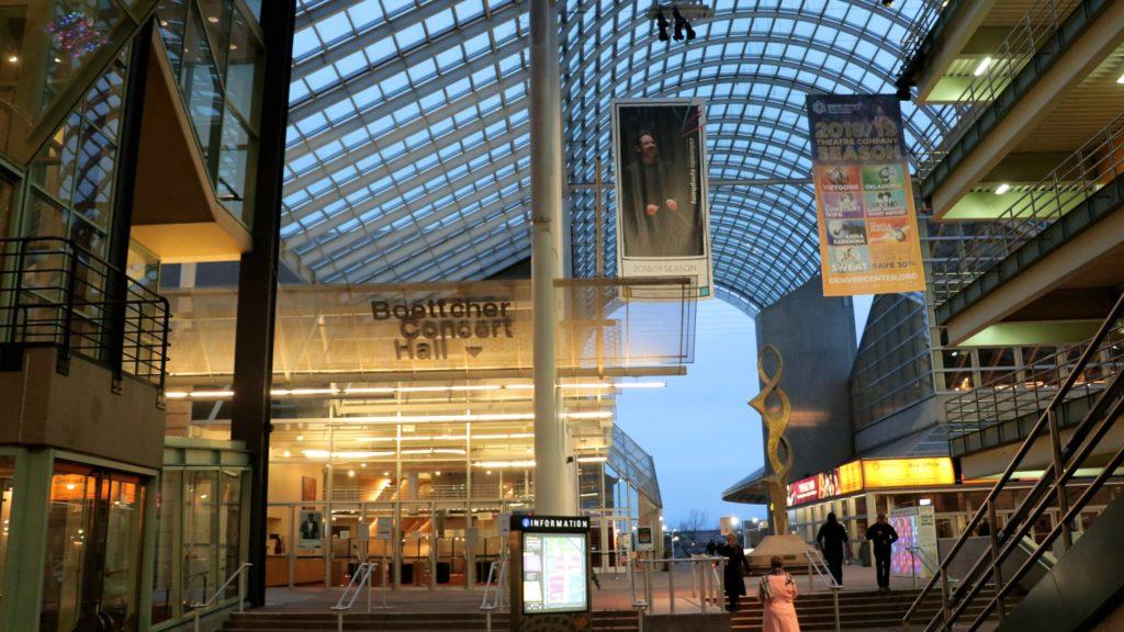 Boettcher Concert Hall. (Kevin J. Beaty/Denverite)