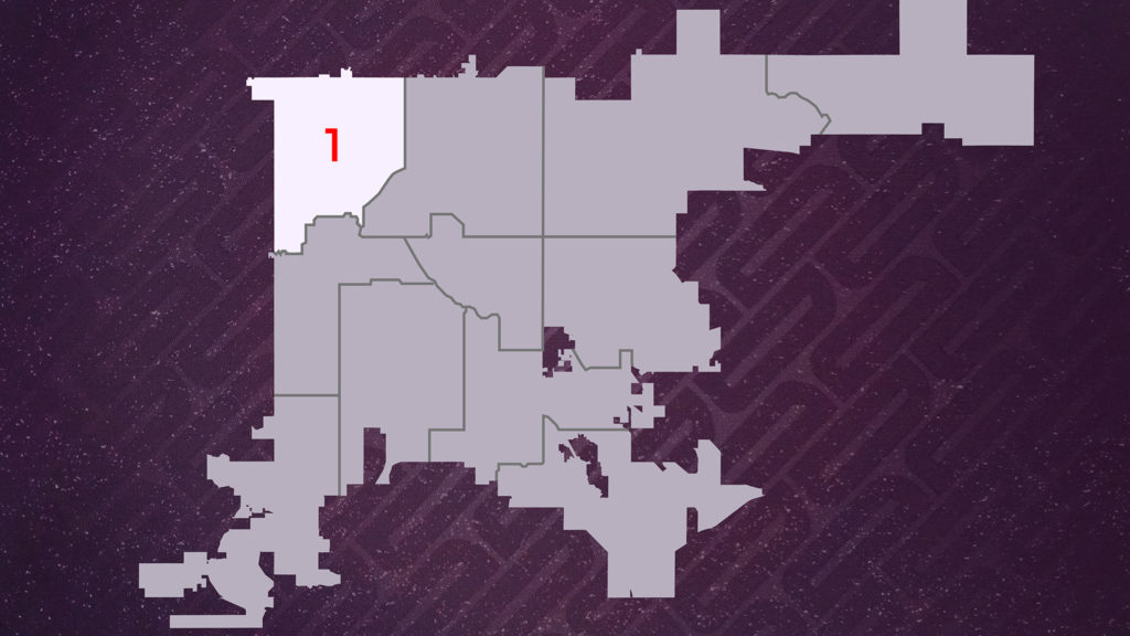 Denver City Council District 1. You can search the district map by address at the city's website.