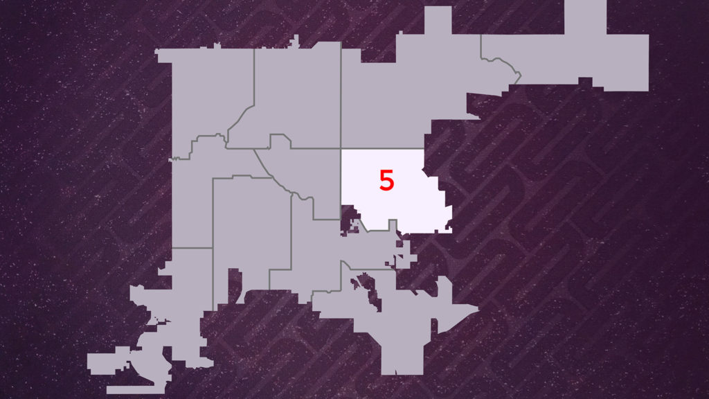Denver City Council District 5. You can search the district map by address at the city's website.