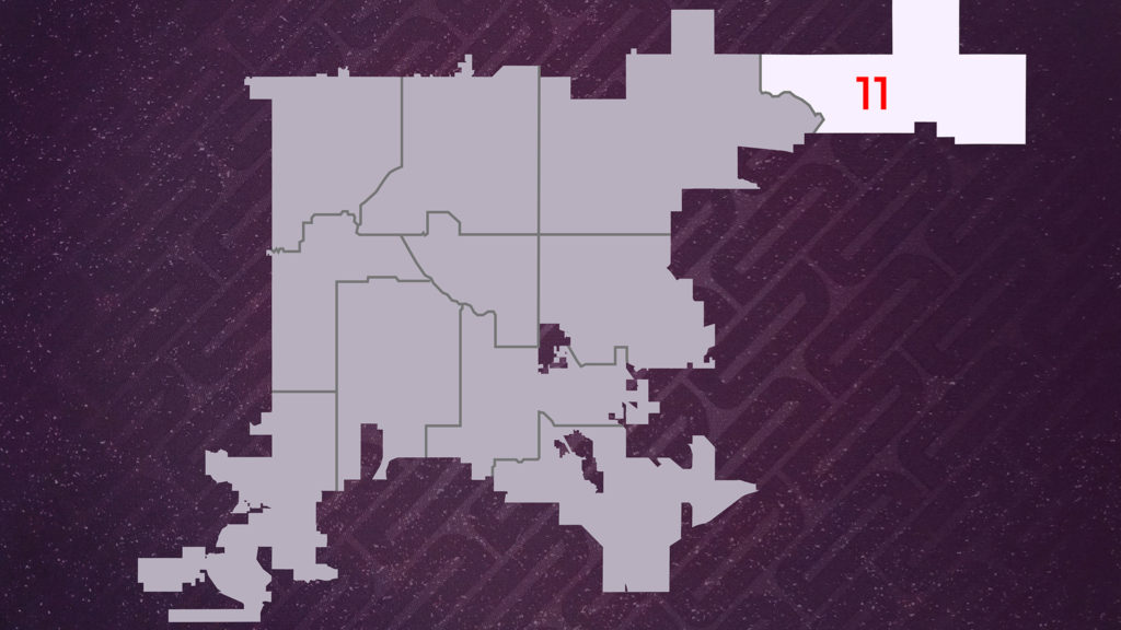 Denver City Council District 11. You can search the district map by address at the city's website.