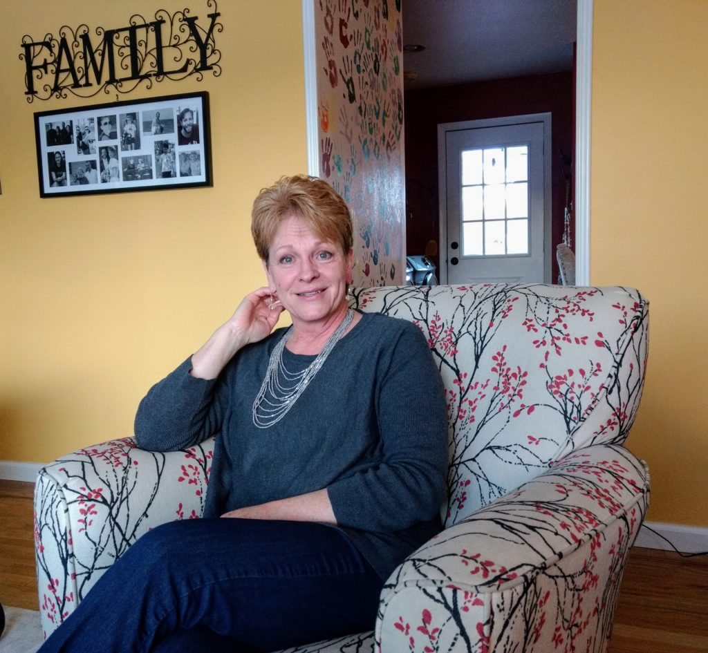 Florence Sebern in her Virginia Village home. (Donna Bryson/Denverite)