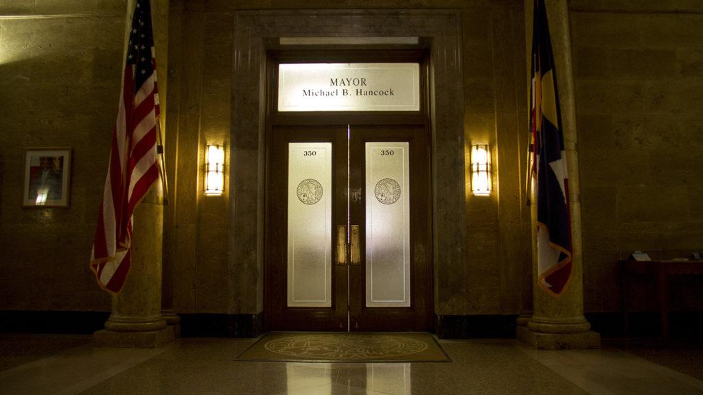 La oficina del alcalde de Denver. (Kevin J. Beaty/Denverite)