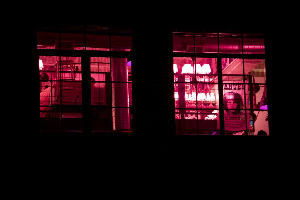 Heyd Red Dexter's magical pink loft in City Park West, April 5, 2019. (Kevin J. Beaty/Denverite)