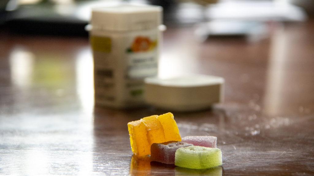 Edible marijuana, in gummy form. (Kevin J. Beaty/Denverite)