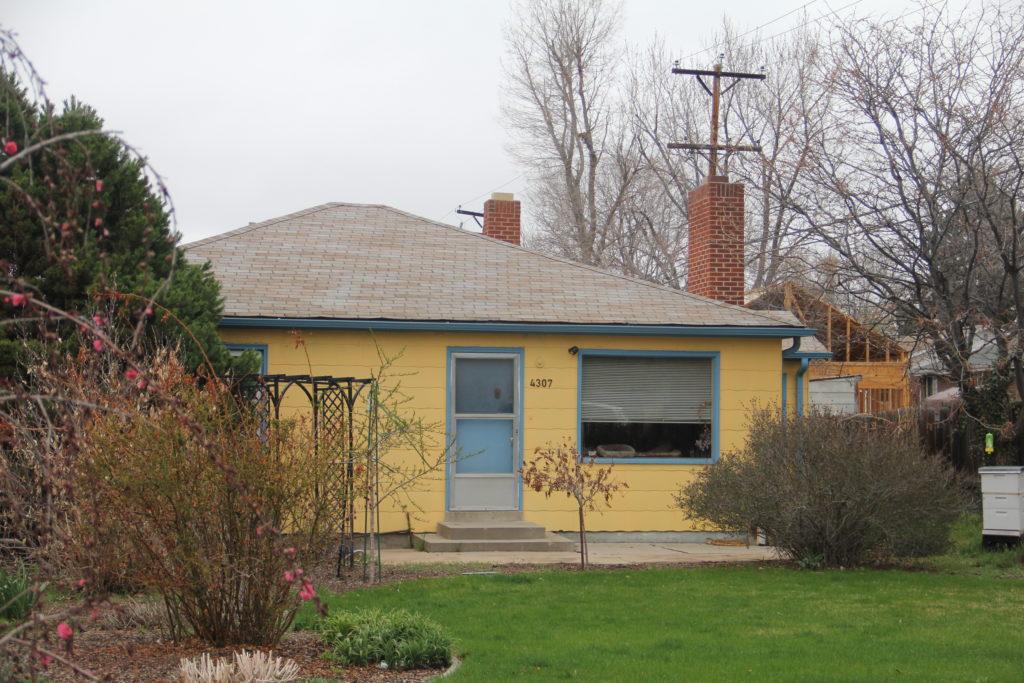 Groundcovers Greenhouse & Garden Center offices on East Iliff Avenue on Monday, April 22, 2019, in the University Hills North neighborhood in Denver. (Esteban L. Hernandez/Denverite)