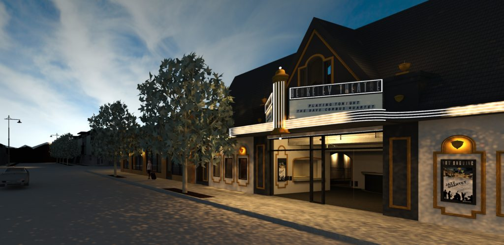 A rendering of the potential remodel of the Yates Theater. The name won't be changed. Stutz said it's an artistic liberty. (Courtesy of Downtown Property Services)