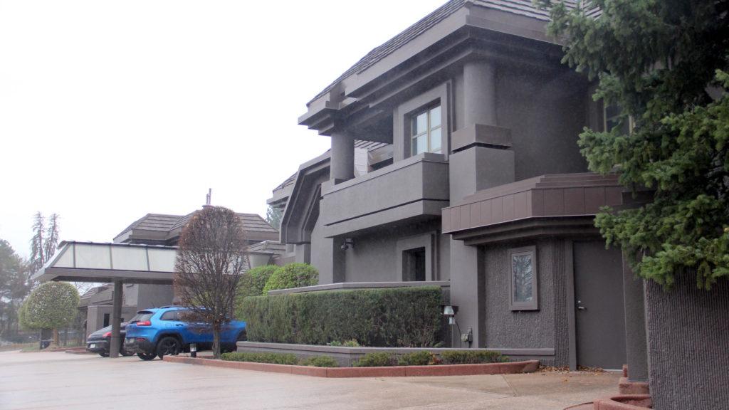 Cableland, the former home of Bill Daniels and the official residence of the Denver mayor. 4150 E. Shangri La Dr., April 10, 2019. (David Sachs/Denverite)