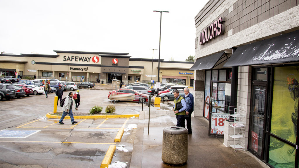 Five Points liquor and grocery stores, May 21, 2019. (Kevin J. Beaty/Denverite)