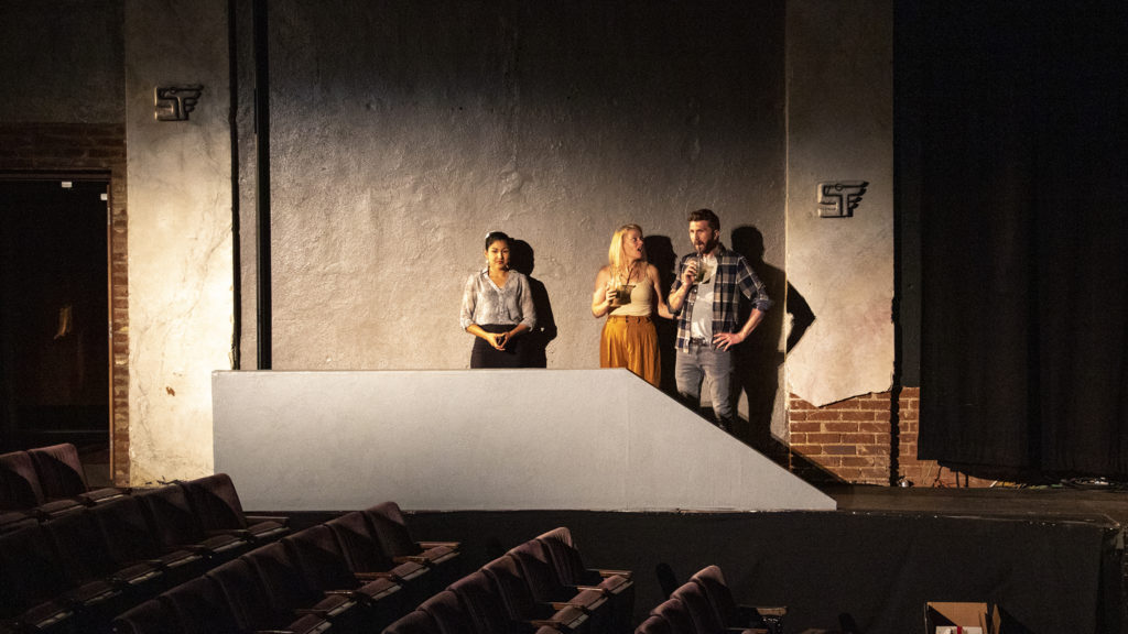 "A dress rehearsal of ""Northside"" by Bobby LeFebre at Su Teatro on Santa Fe Drive, June 10, 2019. (Kevin J. Beaty/Denverite)"
