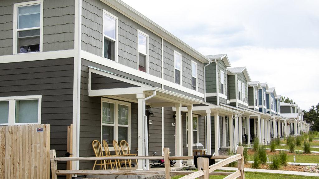 Habitat for Humanity's Sheridan Square neighborhood, June 26, 2019. (Kevin J. Beaty/Denverite)