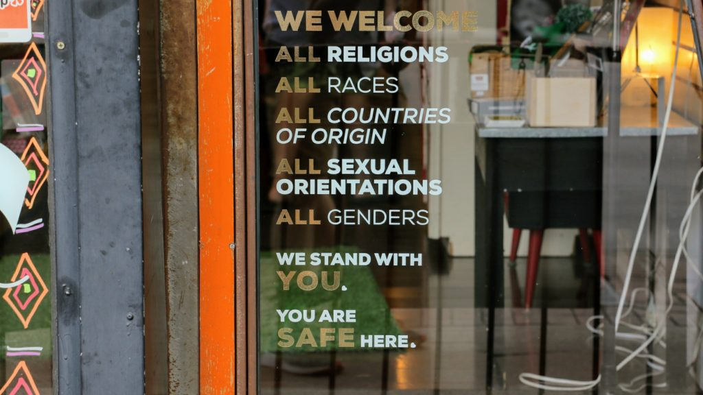 The front window at Hope Tank on South Broadway. (Kevin J. Beaty/Denverite)