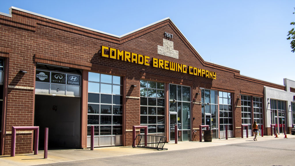 Comrade Brewing Company, July 9, 2019. (Kevin J. Beaty/Denverite)